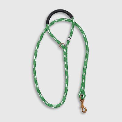 Standard Green Calypso leash made by Fair Leads
