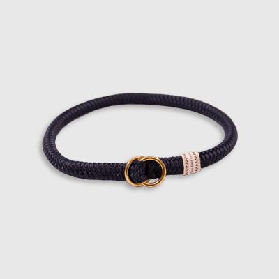 FL Collar Slip Blue collar made by Fair Leads